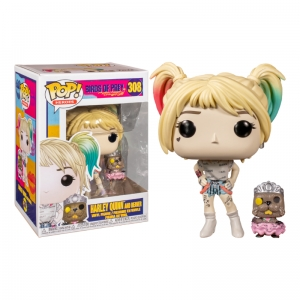 Figurka Funko Pop BIRDS OF PREY - Harley Quinn and Beaver 308
