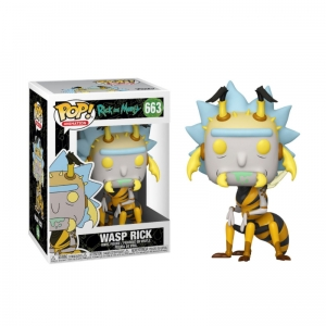 Figurka Funko Pop RICK AND MORTY - Wasp Rick 663
