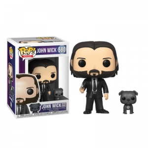 Figurka Funko Pop JOHN WICK - John Wick with Dog 580