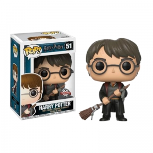 Figurka Funko Pop HARRY POTTER - Harry Potter with Firebolt 51 Excusive