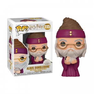 Figurka Funko Pop HARRY POTTER - Albus Dumbledore z Harrym 115