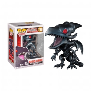 Figurka Funko Pop YU-GI-OH - Red-Eyes Black Dragon 718
